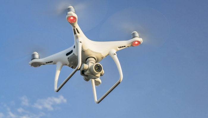 Drones help cell tower inspection image